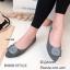 รองเท้าคัทชูส้นแบน Style Dior (สีเทา) thumbnail 2