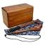 (พรีออเดอร์) กล่องข้าวไม้ กล่องข้าวญีปุ่น เบนโตะ กล่องห่ออาหารกลางวัน ไม้แท้ ลายสวย ปลอดภัย ทรงสี่เหลี่ยม สองชั้น สีโอ๊ค thumbnail 1