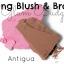 **พร้อมส่ง**e.l.f. Studio Contouring Blush & Bronzing Powder สี 83602 Antigua ปัดแก้มและบลอน์เซอร์ราคาประหยัดในตลับเดียวสีคู่แฝดของบลัชออน NARS ANGELIKA และบรอนเซอร์ NARS LAGUNA สวยได้ในราคาสบายกระเป๋า สีชมพูสดใสผสมชิมเมอร์สีทองระยิบระยับ thumbnail 3