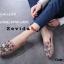 รองเท้าคัทชูทรงสวมปักลายผึ้ง Style Gucci (สีครีม) thumbnail 13