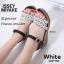 รองเท้าส้นเตารีดสไตล์ BaoBao (สีเทา) thumbnail 4