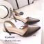 รองเท้าหัวแหลมรัดส้น Style Zara (สีเทา) thumbnail 1