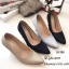 รองเท้าคัทชูกลิตเตอร์ส้นโลโหะ (สีเงิน) thumbnail 10