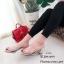 รองเท้าส้นตันสวมใสนิ่ม (สีดำ) thumbnail 8