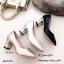 รองเท้าคัทชูส้นฝังเพชร (สีดำ) thumbnail 10