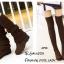 รองเท้าบูทยาวตัดต่อสไตล์ถุงเท้า (สีน้ำตาล) thumbnail 1