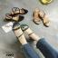 รองเท้าแตะรัดส้นสไตล์ลำลอง (สีครีม) thumbnail 8