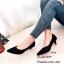 รองเท้าคัทชูกลิตเตอร์ (สีดำ) thumbnail 2