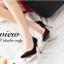 พร้อมส่ง : รองเท้าคัทชูหนังชามัว (มี3สี) thumbnail 6