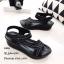 รองเท้าลำลองเย็บลาย (สีดำ) thumbnail 2