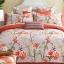 (Pre-order) ชุดผ้าปูที่นอน ปลอกหมอน ปลอกผ้าห่ม ผ้าคลุมเตียง ผ้าฝ้ายพิมพ์ลายดอกไม้สไตล์วินเทจ เปอร์โตริโกเซ็ท thumbnail 2