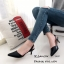 รองเท้าหัวแหลมรัดส้น Style Zara (สีเทา) thumbnail 5