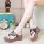 รองเท้าแตะคีบ Style Gucci (สีดำ) thumbnail 3