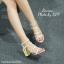 รองเท้า Valentino pumps rainbow color t-strap rockstud (สีดำ) thumbnail 5