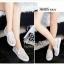 พร้อมส่ง : รองเท้าลูกไม้สไตล์ Givenchy (สีขาว) thumbnail 3