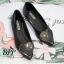 รองเท้าคัทชูส้นแบนแต่งหัวใจ (สีขาว) thumbnail 6
