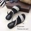 รองเท้าแตะริสตัลสไตล์แฟชั่นเกาหลี (สีดำ) thumbnail 10