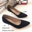 รองเท้าคัทชูกลิตเตอร์ส้นโลโหะ (สีเงิน) thumbnail 9