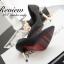 พร้อมส่ง : รองเท้าคัทชูหนังชามัว (มี3สี) thumbnail 8