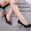 รองเท้าคัทชูส้นฝังเพชร (สีดำ) thumbnail 3