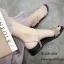 รองเท้าแตะริสตัลสไตล์แฟชั่นเกาหลี (สีดำ) thumbnail 9