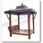 ศาลาบาหลี ศาลาไม้ เสาเหลี่ยม หลังคาสองชั้น ไม้เนื้อแข็งรวม ศาลาไม้สำหรับนั่งเล่นในสวนหรือตกแต่งสวน thumbnail 1