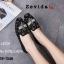 รองเท้าคัทชูทรงสวมปักลายผึ้ง Style Gucci (สีครีม) thumbnail 9
