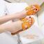 รองเท้าแตะ Style Hermes ฉลุลาย (สีน้ำตาล) thumbnail 9