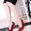 รองเท้าคัทชูส้นสูงแต่งมุก (สีแดง) thumbnail 4