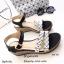 รองเท้าส้นเตารีดสไตล์ BaoBao (สีเทา) thumbnail 3
