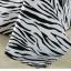 (Pre-order) ชุดผ้าปูที่นอน ปลอกหมอน ปลอกผ้าห่ม ผ้าคลุมเตียง ผ้าโพลีเอสเตอร์พิมพ์ลายม้าลายขาว-ดำ thumbnail 4