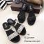 รองเท้าแตะสวมแต่งคริสตัล (สีดำ) thumbnail 6