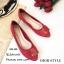 รองเท้าคัทชูส้นแบน Style Dior (สีเทา) thumbnail 7
