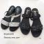 รองเท้าแตะสวมแต่งคริสตัล (สีดำ) thumbnail 7