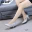 รองเท้าคัทชูหุ้มส้นสไตล์คลาสสิค (สีครีม) thumbnail 2