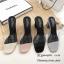 รองเท้าส้นตันสวมใสนิ่ม (สีดำ) thumbnail 13