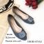 รองเท้าคัทชูส้นแบน Style Dior (สีเทา) thumbnail 1