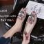 รองเท้าคัทชูทรงสวมปักลายผึ้ง Style Gucci (สีครีม) thumbnail 16