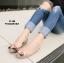 รองเท้าคัทชูส้นแบน Style Gucci (สีน้ำตาลอ่อน) thumbnail 3