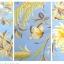 (Pre-order) ชุดผ้าปูที่นอน ปลอกหมอน ปลอกผ้าห่ม ผ้าคลุมเตียง ผ้าฝ้ายอเมริกาพิมพ์ลายดอกไม้สไตล์วินเทจ โทนสีฟ้า thumbnail 3