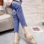 รองเท้าคัทชูทรงสวม Style Gucci (สีเลือดหมู) thumbnail 5