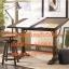 Pre-order โต๊ะทำงานโต๊ะเขียนแบบปรับระดับวินเทจ ปรับระดับสูงต่ำ และองศาได้ เฟอร์นิเจอร์แต่งบ้านสไตล์วินเทจ thumbnail 1