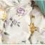 (Pre-order) ชุดผ้าปูที่นอน ปลอกหมอน ปลอกผ้าห่ม ผ้าคลุมเตียง ผ้าฝ้ายพิมพ์ลายดอกไม้สไตล์วินเทจ แมรี่แลนด์เซ็ท thumbnail 8
