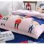 (Pre-order) ชุดผ้าปูที่นอน ปลอกหมอน ปลอกผ้าห่ม ผ้าคลุมเตียง ผ้าโพลีเอสเตอร์พิมพ์ลายการ์ตูนแฟนซีลายสามทหาร thumbnail 2