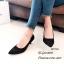 รองเท้าคัทชูปักลายดอกไม้ (สีเทา) thumbnail 6