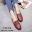 รองเท้าคัทชูทรงสวม Style Gucci (สีเลือดหมู) thumbnail 1