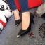 รองเท้าคัทชูหัวทองทรงหุ้มส้น (สีดำ) thumbnail 2