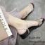 รองเท้าแตะสวมแต่งคริสตัล (สีดำ) thumbnail 4