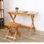 Pre-order โต๊ะทำงานไม้ไผ่ปรับระดับ โต๊ะคอมพิวเตอร์ไม้ไผ่ปรับระดับ โต๊ะอเนกประสงค์ปรับระดับ thumbnail 6