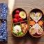 (พรีออเดอร์) กล่องข้าวไม้ กล่องข้าวญีปุ่น เบนโตะ กล่องห่ออาหารกลางวัน ไม้แท้ ลายสวย ปลอดภัย ทรงเม็ดถั่ว สองชั้น สีโอ๊ค thumbnail 5